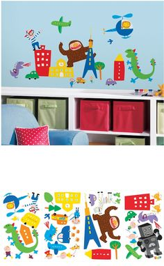 Lazoo Boy Wall Decals - Wall Sticker Outlet