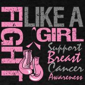 Fight like a girl.... Breast cancer awareness
