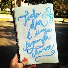 One more shot at second chances #sketchbook #calligraphy #handwriting #poscapen  #tentadenovo