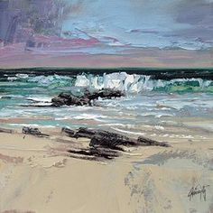 Available Scottish abstract landscape paintings