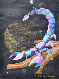 Sternzeichen Skorpion, Bock-Art, Christine Bock