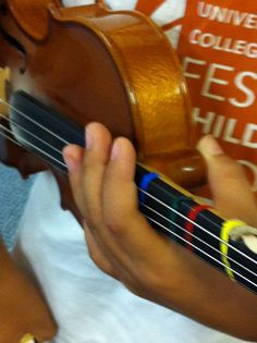 TEACHING SUZUKI: Steps to Putting the Violin on the Shoulder