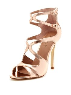Phoebe Caged Strappy Sandal from Sole-Mates: Shoes We Love on Gilt