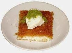 Manger Turc - La cuisine turque: KAYMAKLI KÜNEFE