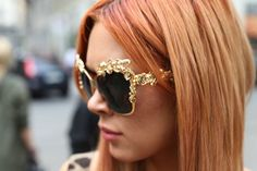 baroque sunglasses by dolce & gabanna