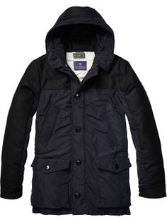 City Parka In Different Qualities > Mens Clothing > Jackets at Scotch & Soda