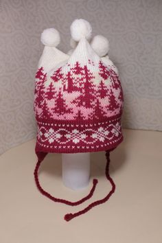 These wonderful hand-made winter hats for children are not only cute-looking from the outside but also very warm and soft from the inside!