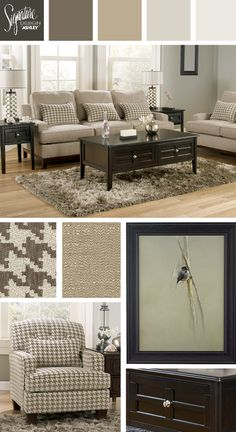 Houndstooth Pattern For The Living Room! Donella Sofa   Ashley Furniture  Industries, Inc.