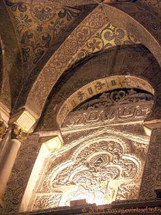 Mélange des styles architecturaux, mosquée-cathédrale de Cordoue, Espanha, Andaluzia