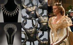 Tim Burton Dark Shadows, True Blood, Snow White & Huntsman, charlize theron queen, movie jewelry by Stephen Einhorn.