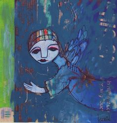 Naive : By Karin Dempsey Greenwood. Vibrant Colors, Colours, Different Media, Naive Art, Painters, My Love, Vivid Colors