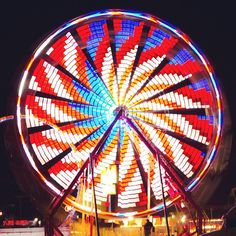 Sweet shot of a ferris wheel in motion from Instagram user erod6607. Photo submitted to #GEInspiredME contest.