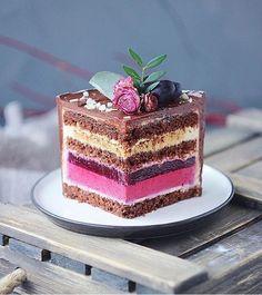 Lemon Blueberry Cheesecake Cake - New ideas Cake Filling Recipes, Cake Flavors, Cake Recipes, Dessert Recipes, Lemon Blueberry Cheesecake, Cheesecake Cake, Blueberry Cake, Gourmet Desserts, Fancy Desserts
