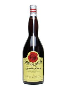 This is another (yet stronger) Danish liquor  called Gammel Dansk. It's my dad and my favorite because it's darker and has the best spices and anise flavor!