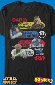 Star Wars Father's Day T-Shirt: Star Wars Mens T-Shirt Star Wars Geeks:   Travel everywhere in this men's style shirt that has been designed with great art and illustration.