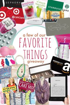 "Mother's Day ""Our Favorite Things"" Giveaway - Mom On Timeout"