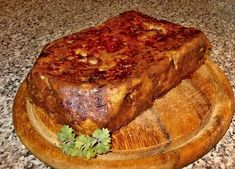 Czech Recipes, Banana Bread, Food And Drink, Cooking, Desserts, Kitchen, Tailgate Desserts, Deserts, Postres