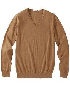 MEN V NECK SWEATER