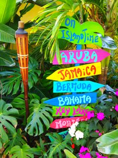 We all need a little bit of Island Time in our busy lives....except I would paint US Virgin Islands names.