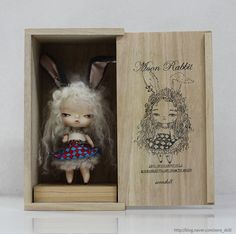 Moon Rabbit Doll New Package