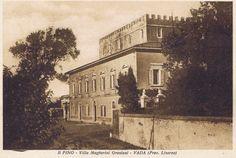 "Farm House in Tuscany ""Villa Graziani"" (old photo)"