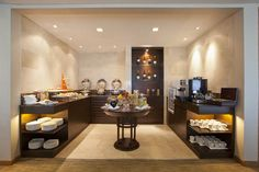 Grand Mercure Roxy Singapore - Hotels.com - Lüks Otellerden Uygun Fiyatlı Konaklama Birimlerine Kadar İndirimli Rezervasyon ve Satış Mercure Hotel, Roxy, Singapore, Buffet, Bar, Table, Furniture, Home Decor, Decoration Home