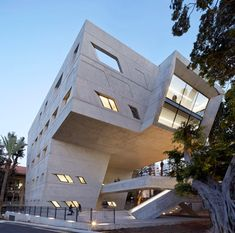 Issam Fares Institute at american University in Beirut by Zaha Hadid Architects