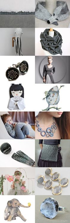 expressive GREY * by Antje Henke on Etsy--Pinned with TreasuryPin.com