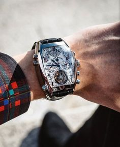 Big Watches, Dream Watches, Luxury Watches, Watches For Men, Designer Watches, Mens Glasses, Black Opal, Clocks, Mens Fashion