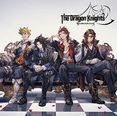 The Dragon Knights ~GRANBLUE FANTASY~ Character Concept, Character Art, Character Design, Anime Guys, Manga Anime, Anime Art, Granblue Fantasy Characters, Seven Knight, Anime Boy Zeichnung