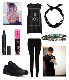 """Date With Calum Hood ❤"" by bandlover69 ❤ liked on Polyvore featuring beauty, Current/Elliott and Converse"