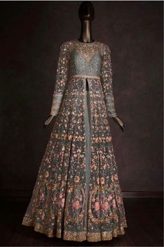 Buy beautiful Designer fully custom made bridal lehenga choli and party wear lehenga choli on Beautiful Latest Designs available in all comfortable price range.Buy Designer Collection Online : Call/ WhatsApp us on : Indian Gowns, Indian Attire, Pakistani Dresses, Indian Outfits, Shadi Dresses, Indian Lehenga, Designer Gowns, Indian Designer Wear, Ethnic Fashion