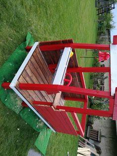 Feuerwehrauto für Spielplatz - Bauanleitung zum Selberbauen - 1-2-do.com - Deine Heimwerker Community