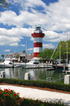 Harbour Town Lighthouse - The Island's best known and best loved landmark, the Harbour Town Lighthouse has been welcoming visitors to Hilton Head for over four decades