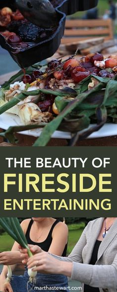 Wood fires, cast iron, and fresh produce: These are a few of my favorite things. Let us show you how fireside cooking is making a special place at the table.