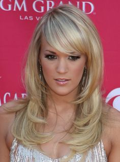 Carrie Underwood hair- want!