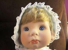 Old Lee Middleton Dolls | Lee Middleton Doll 1979 Little Angel Face Signed by Lee Middleton ...
