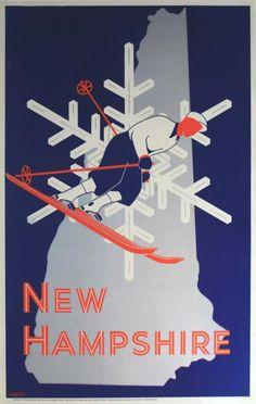 1930 ski Ad