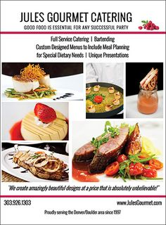 Jules Gourmet Catering - Colorado Wedding & Special Event Catering