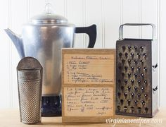 Use Vintage Recipes