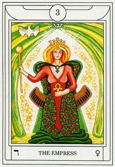 The Empress - Golden Dawn Magic Tarot