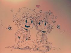 Solangelo Chibi by Rowland-a