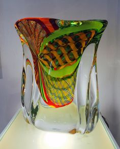 Fantastico Primavera. Glass Sculpture, Massimiliano Schiavon