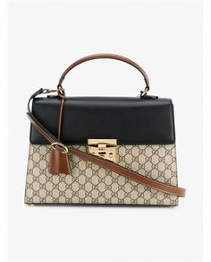 c6c853a8ea84 GUCCI Monogram Print Leather Bag.  gucci  bags  lining  travel bags  shoulder  bags  suede  cashmere  hand bags  weekend  denim    Guccihandbags