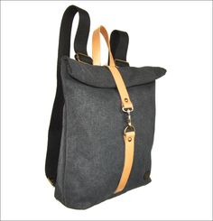 Burban medium backpack Handmade in Greece www.travellerstore.eu