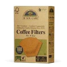 If You Care Unbleached Coffee Filters 4 cone 100 count *** More info could be found at the image url.Note:It is affiliate link to Amazon.