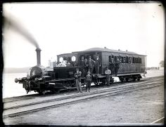 Locomotive 'Pygmy', Toronto, NSW, 28 September 1901 by Cultural Collections, University of Newcastle, via Flickr