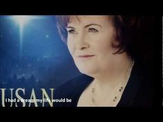 Susan Boyle - I Dreamed a Dream.  Still makes me have chills when I hear her sing.  So beautiful. Amazing Songs, I Love Music, Talent Show, Beautiful Voice, Christmas Music, Female Singers, Me Me Me Song, Classical Music, Song Lyrics