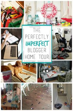 Perfectly Imperfect Home Tour ... A Behind The Scenes Glimpse Into The World Of Craft Bloggers