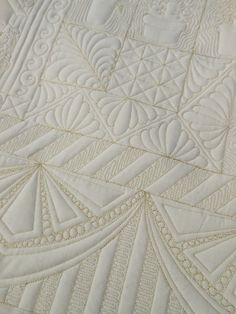 Back as pretty as the front! ...  Green Fairy Quilts
